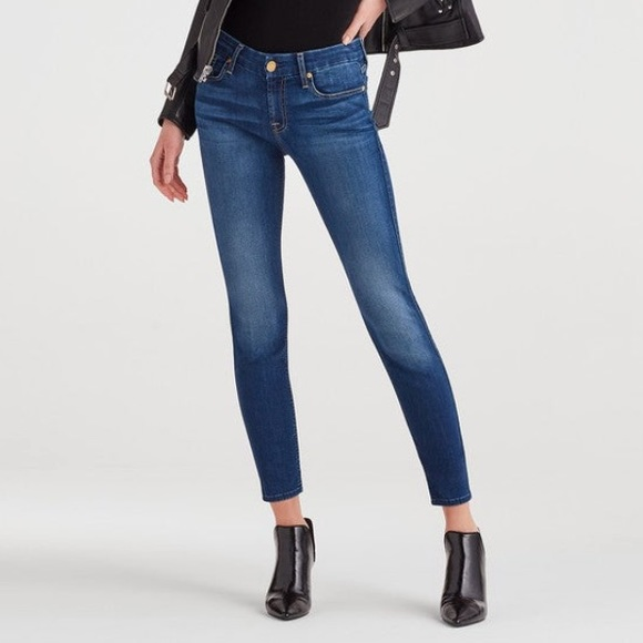 7 For All Mankind Denim - 7 For All Mankind B(air) Ankle Skinny Jeans